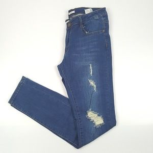 Distressed Skinny Jeans {Jazz}